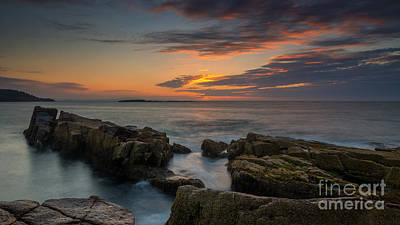 Kitchen Collection - Rocky Coast of Maine wide crop by Michael Ver Sprill