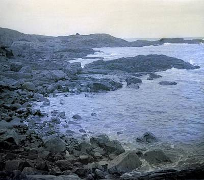 Photograph - Rocky Coast by William Haggart