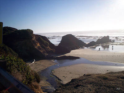 Photograph - Rocky Coastline by Absinthe Art By Michelle LeAnn Scott