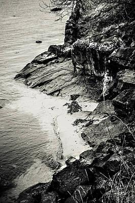 Photograph - Rocky Coastline Of Scotland by Lenny Carter