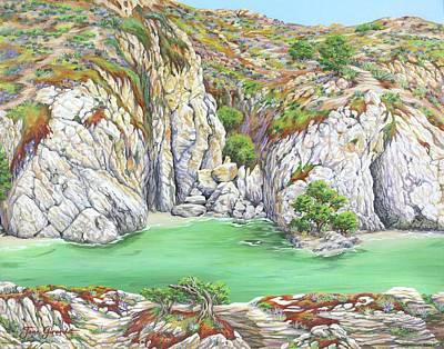 Painting - Rocky Cove by Jane Girardot