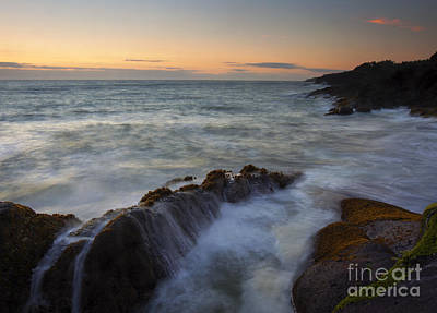 Rocky Creek Photograph - Rocky Creek Sunset by Mike  Dawson