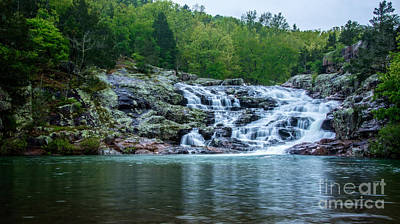 Photograph - Rocky Falls by Julie Clements