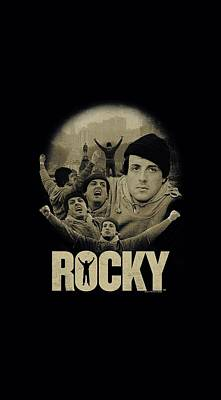 Boxer Digital Art - Rocky - Feeling Strong by Brand A