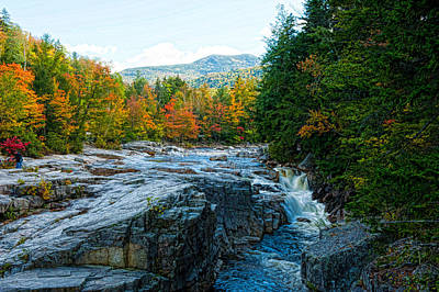 Photograph - Rocky Gorge Falls by Keith Swango