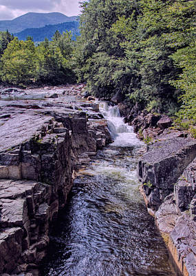 Photograph - Rocky Gorge Portrait by Jemmy Archer