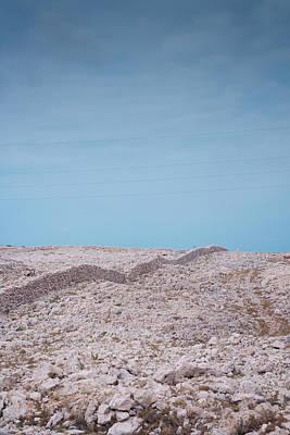 Landscape Photograph - Rocky Hill by Modern Art Prints
