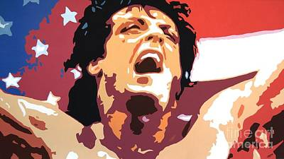 Stallone Painting - Rocky by Hussein El Kaissy