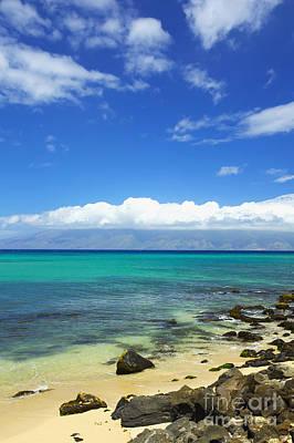 Photograph - Rocky Maui Beach by Kicka Witte