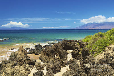 Photograph - Rocky Maui Shore by Kicka Witte