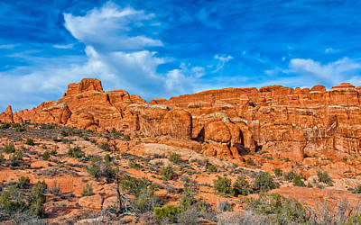 Photograph - Rocky Maze by John M Bailey