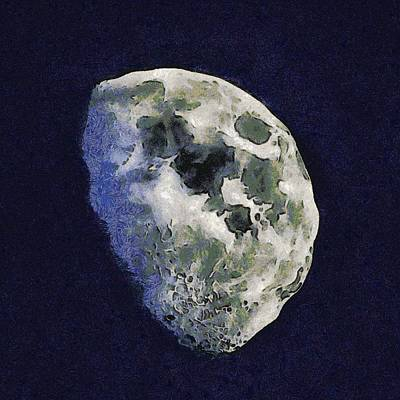 Photograph - Rocky Moon by Nicholas Evans