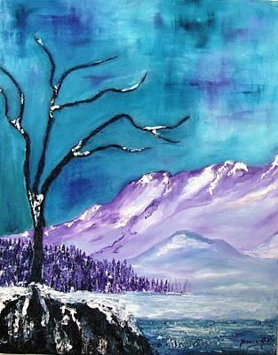 Rocky Mountain 4 Art Print