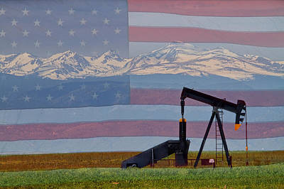 Photograph - Rocky Mountain American Oil by James BO  Insogna
