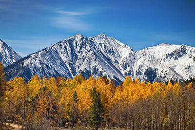 Mountain Photograph - Rocky Mountain Autumn High by James BO  Insogna