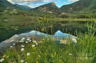 Photograph - Rocky Mountain Beaver Lake by Adam Jewell