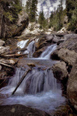Photograph - Rocky Mountain Cascades by Ellen Heaverlo
