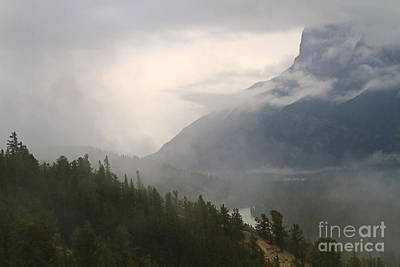 Photograph - Rocky Mountain Fog by Dennis Hedberg
