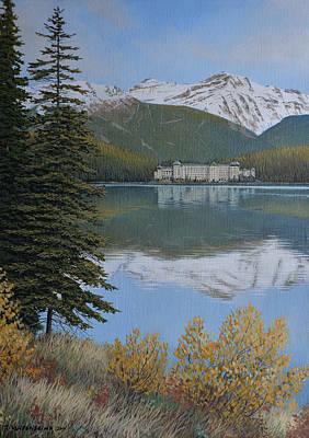 Painting - Rocky Mountain Getaway by Jake Vandenbrink