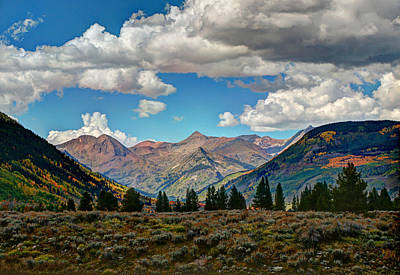 Photograph - Rocky Mountain High Colorado by Allen Beatty