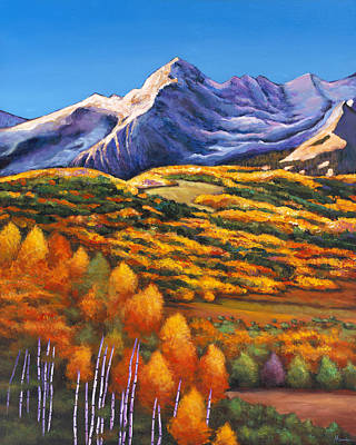Autumn Scenes Painting - Rocky Mountain High by Johnathan Harris