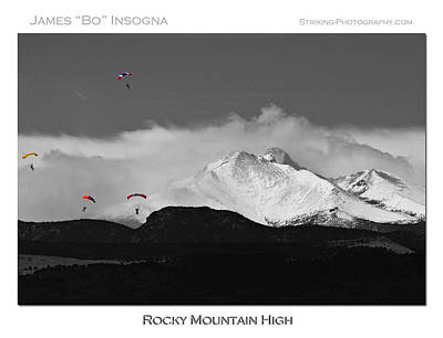 Rocky Mountain High Poster Print Art Print by James BO  Insogna