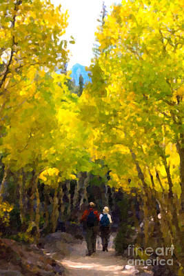 Photograph - Rocky Mountain Hike by Karen Lee Ensley
