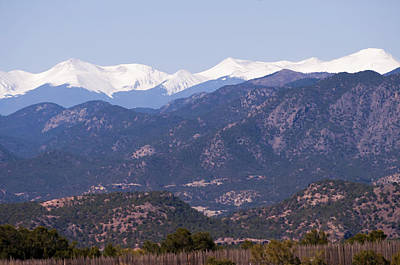 Snow Photograph - Rocky Mountain Majesty by Donna Doherty