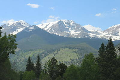 Art Print featuring the photograph Rocky Mountain National Park - 2 by Christy Pooschke