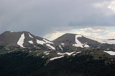 Photograph - Rocky Mountain National Park 1 by Mary Bedy