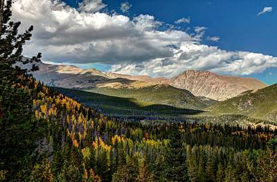 Photograph - Rocky Mountain National Park by Allen Beatty