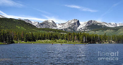 Photograph - Rocky Mountain National Park by Bob McGill