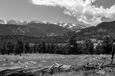 Photograph - Rocky Mountain National Park by Gene Sherrill