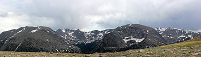 Photograph - Rocky Mountain Panorama 3 by Mary Bedy