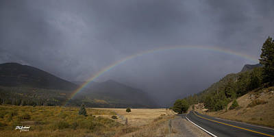 Photograph - Rocky Mountain Rainbow by Don Anderson