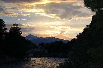 Photograph - Rocky Mountain Sky by Christopher James
