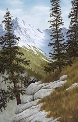 Rocky Mountain Solitude Original by Rick Bainbridge
