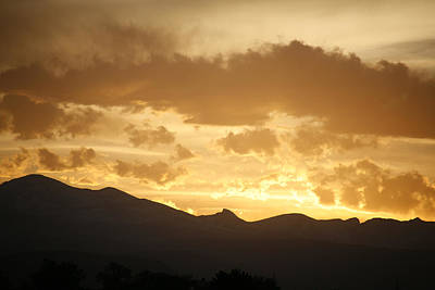 Photograph - Rocky Mountain Sunset 2 by Marilyn Hunt