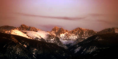 Photograph - Rocky Mountain Sunset by Ellen Heaverlo