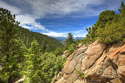 Photograph - Colorado Rocky Mountain Top by D Wallace