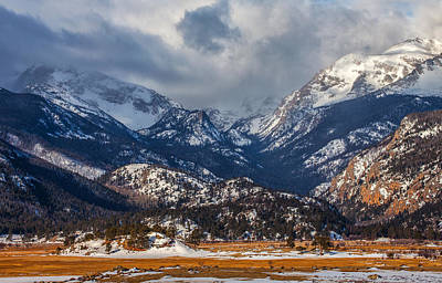 Photograph - Rocky Mountain Weather by Darren  White