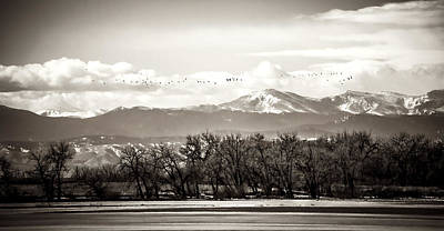 Photograph - Rocky Mountain Winter Vista by Marilyn Hunt