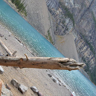 Photograph - Moraine Lake Water 1.1 by Cheryl Miller