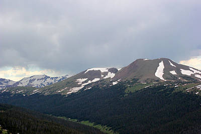 Photograph - Rocky Mountains 4 by Mary Bedy