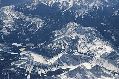 Photograph - Rocky Mountains by Charline Xia