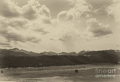 Photograph - Rocky Mountains Front Range by Kay Pickens