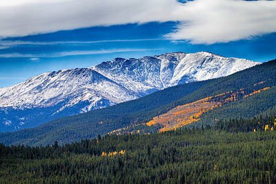 Rocky Mountains Independence Pass Art Print