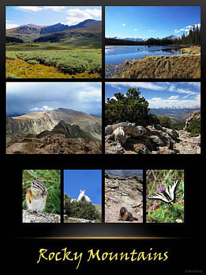 Photograph - Rocky Mountains Poster 1 by Nina Donner