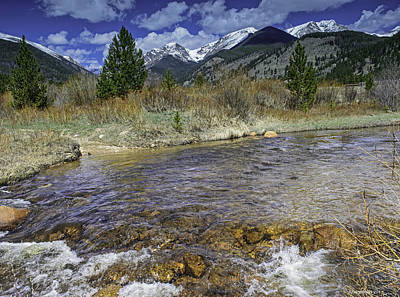 Photograph - Rocky Mountains by Tom Wilbert