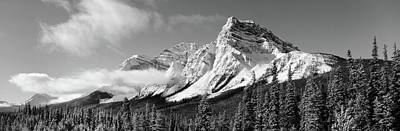 Thawing Photograph - Rocky Mountains, Winter, Alberta, Canada by Panoramic Images